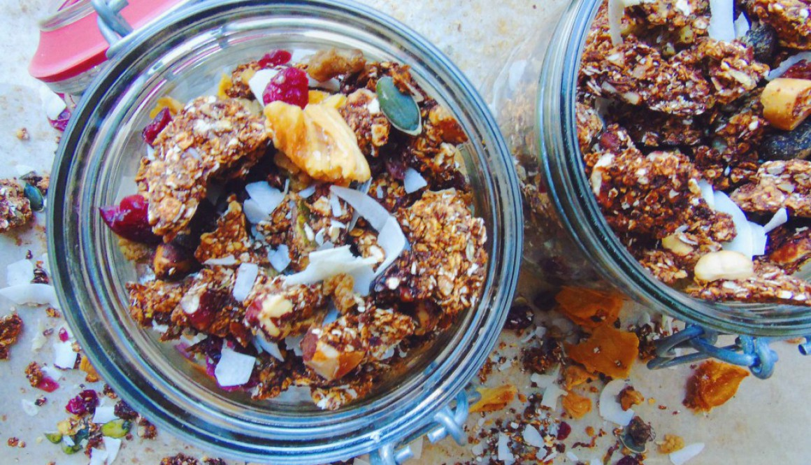 Chai Spiced Granola Clusters
