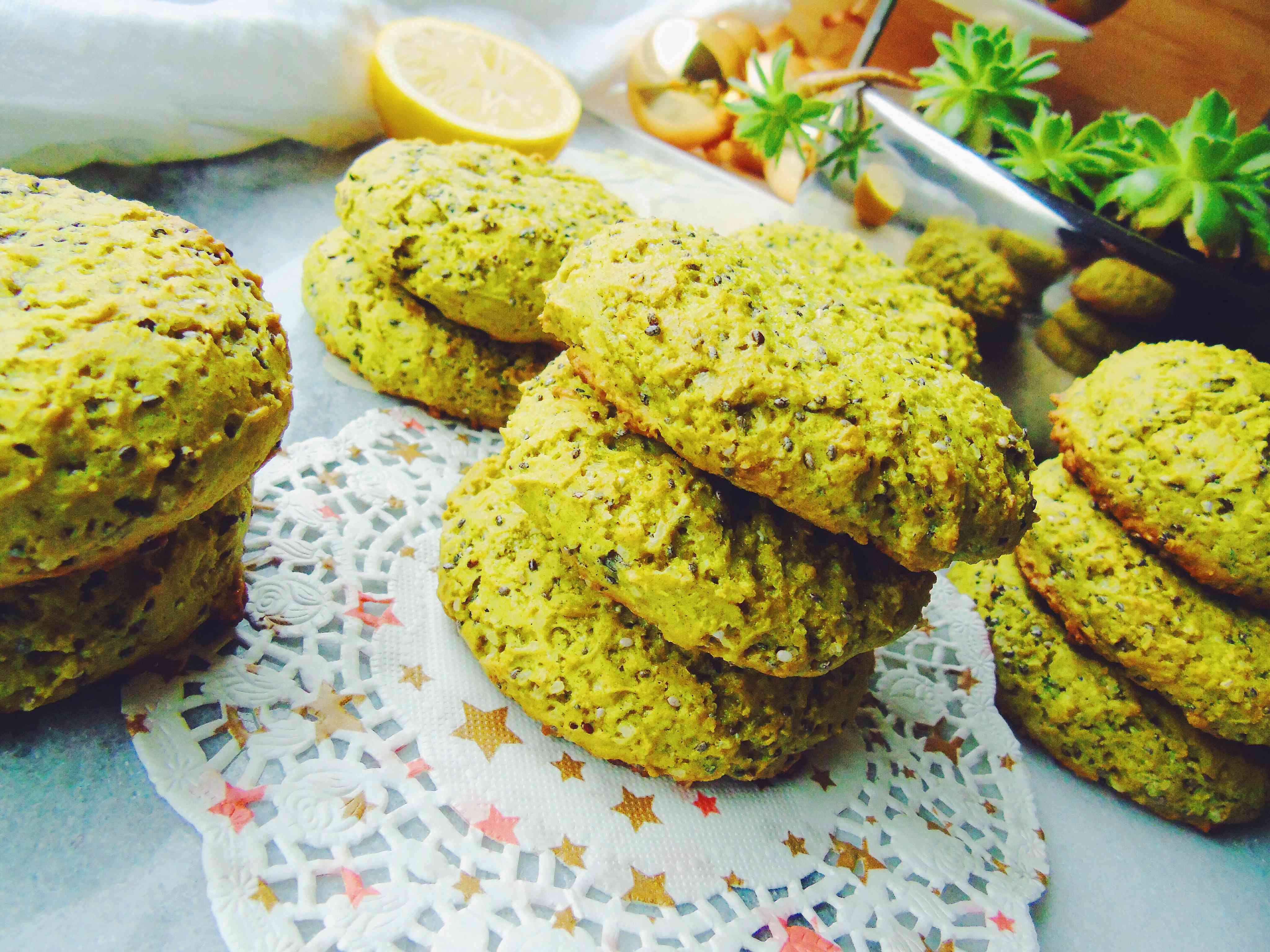 Lemon/Chia Seed Cookies