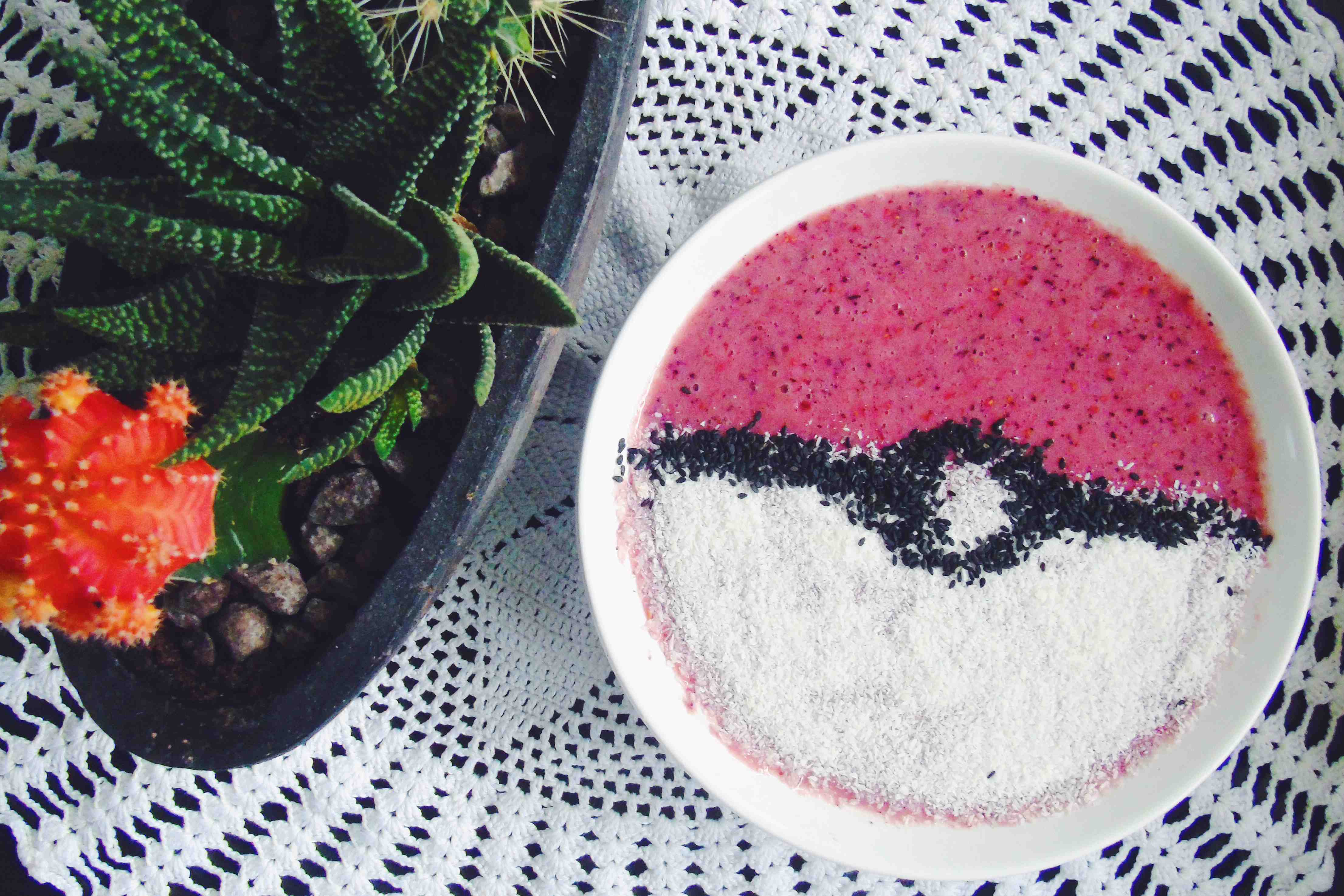 Pokeball Smoothie