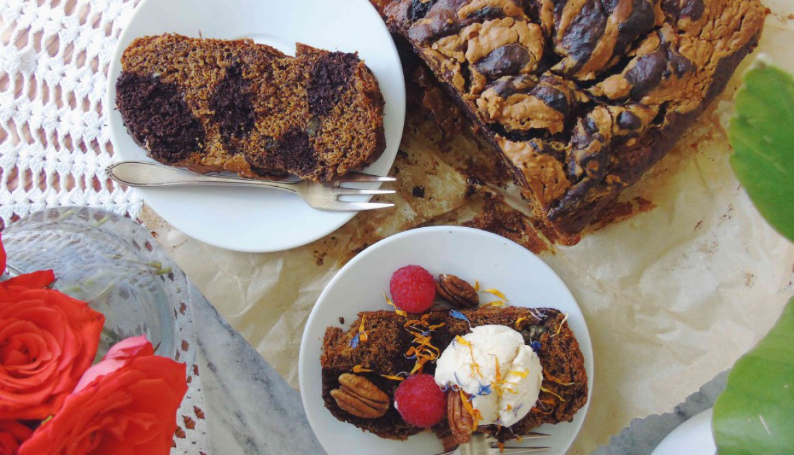 Cacao/Chai Banana Bread