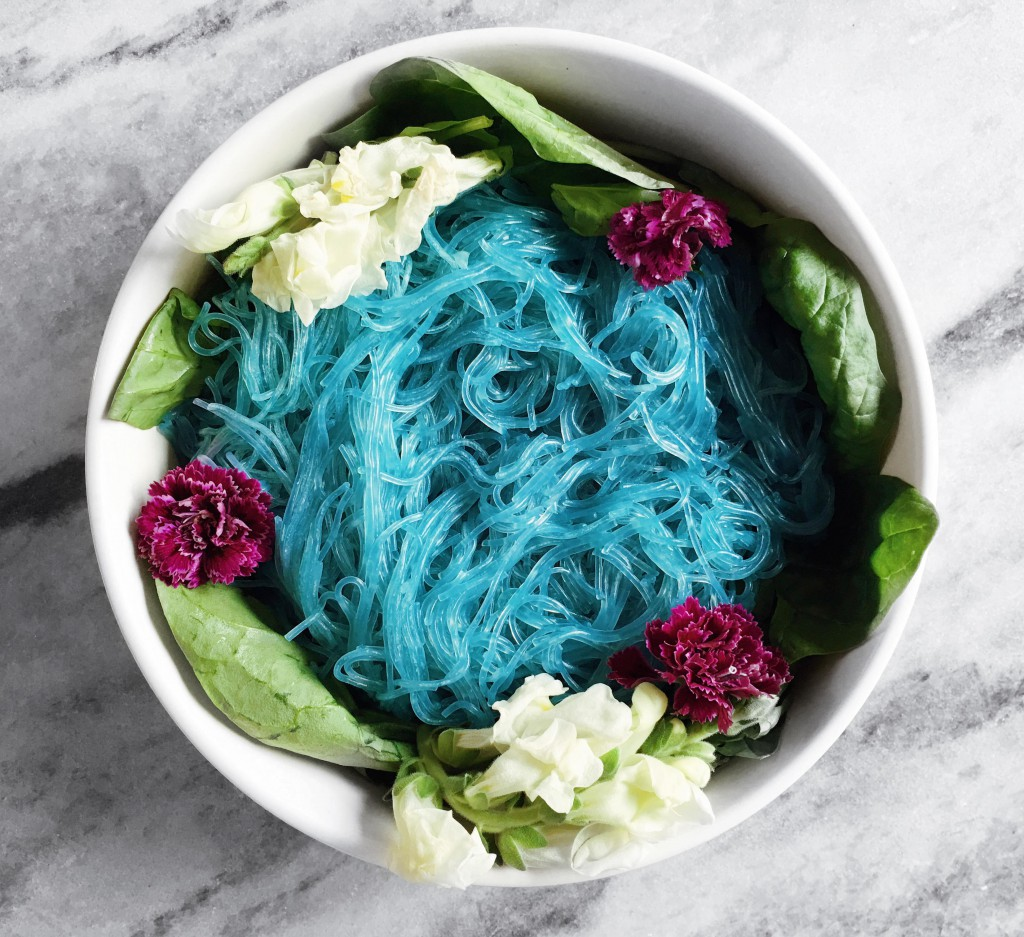 Quick and Simple Unicorn Noodles - the indigo kitchen