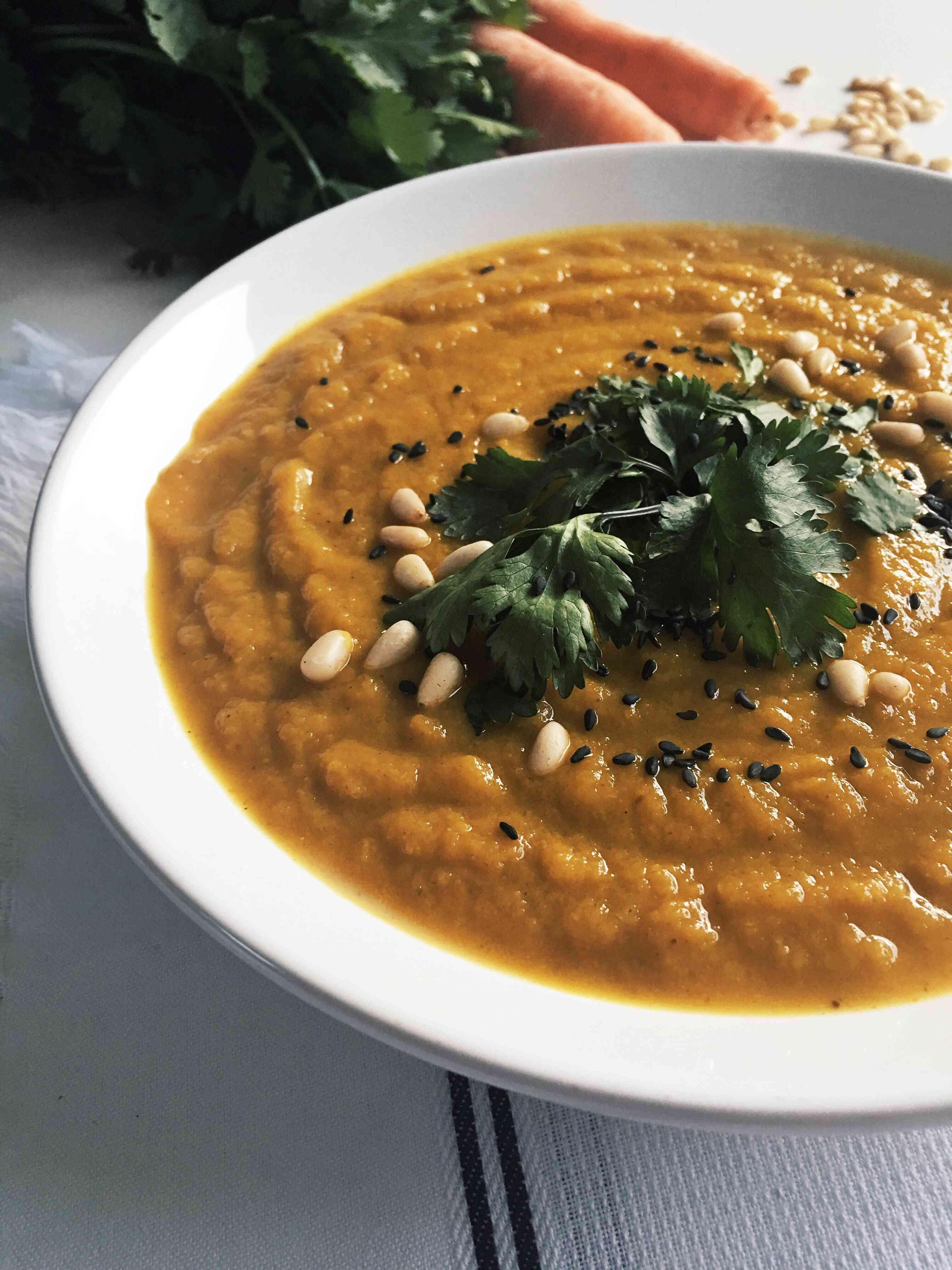 Carrot Soup1