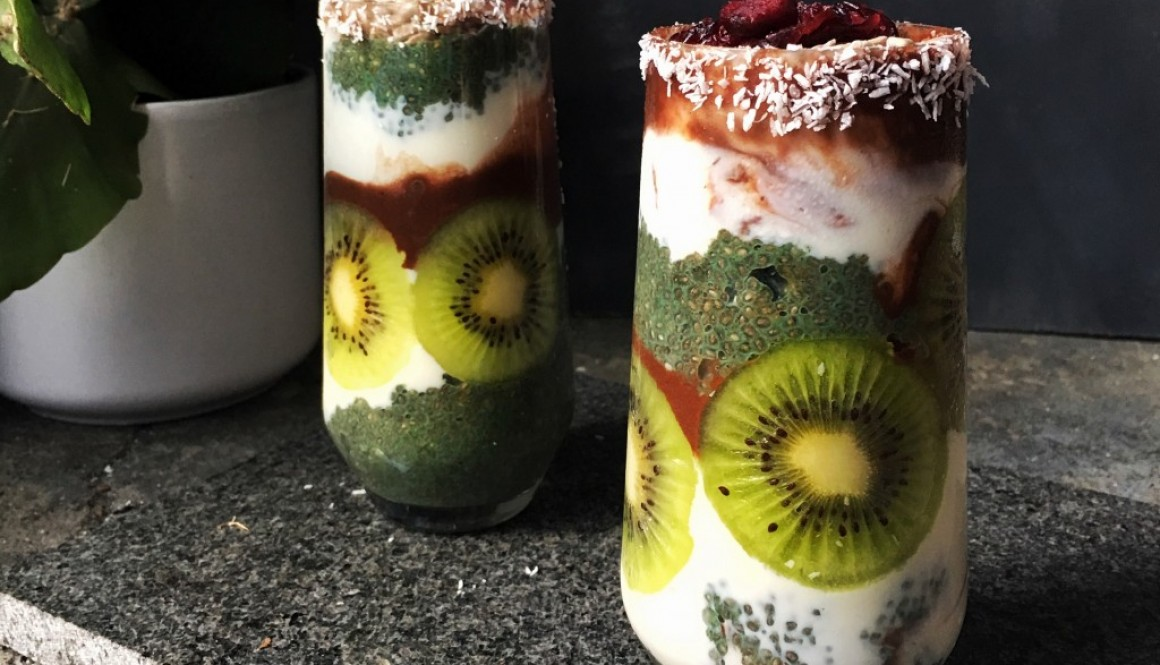 Quick & Easy #3: Chia Parfait – Halloween Addition