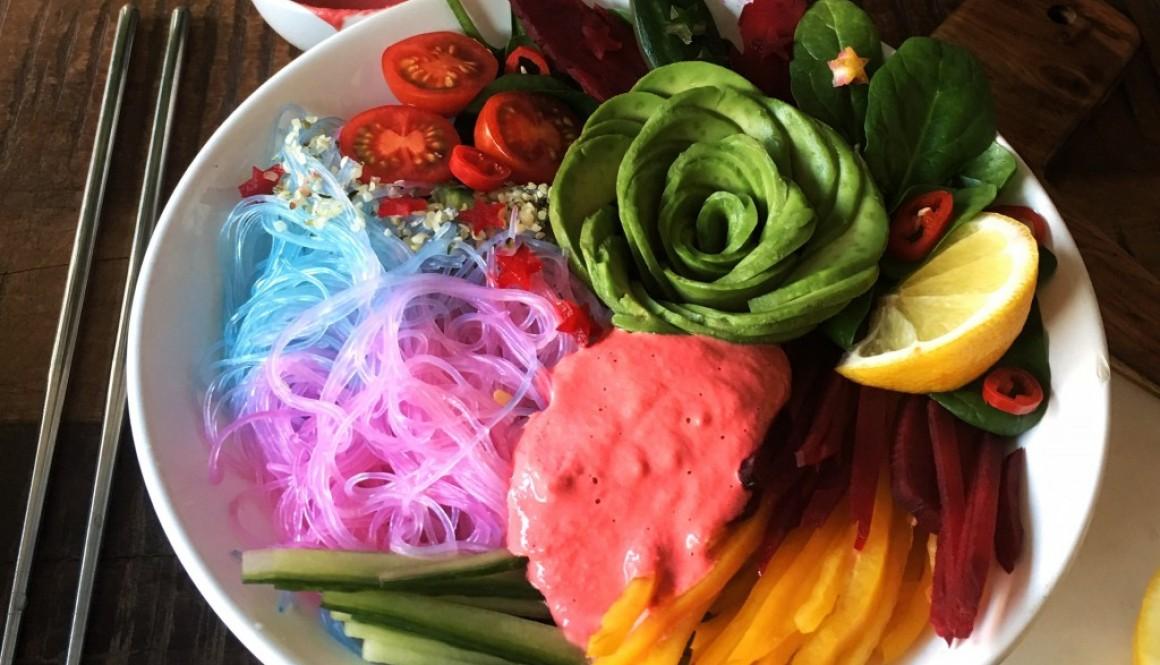 Miso Beet – Rainbow Bowl