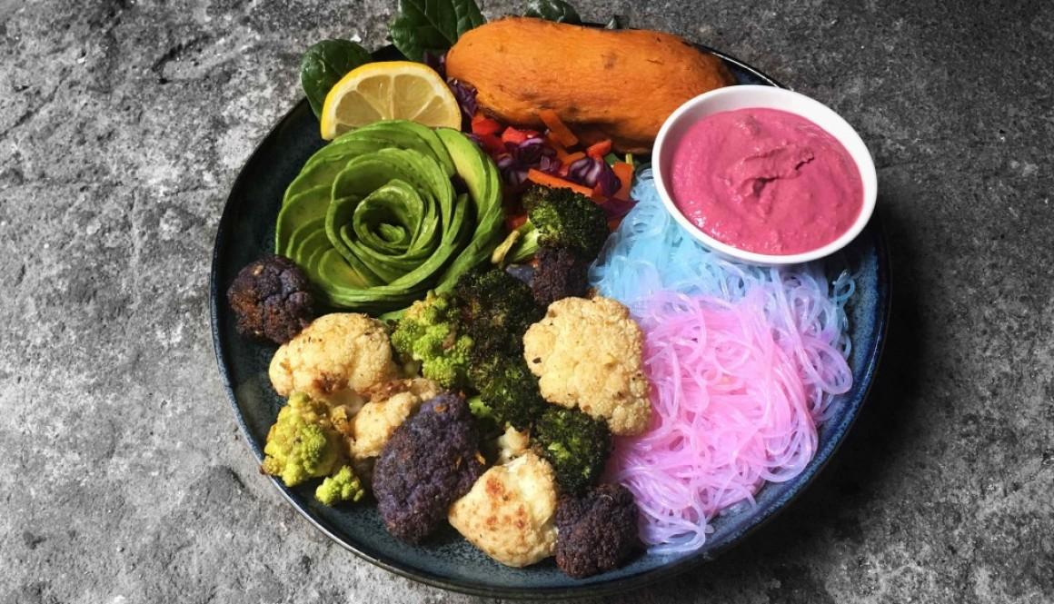 Spiced Roasted Cauliflower + Rainbowl