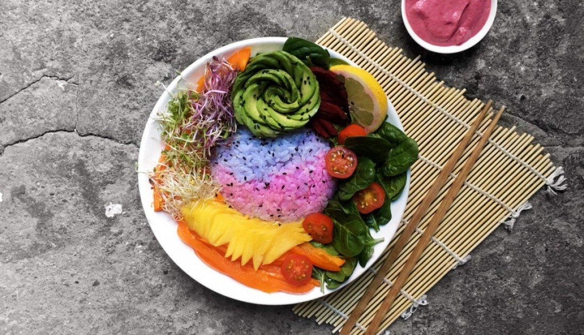 Unicorn Rice + Rainbowl