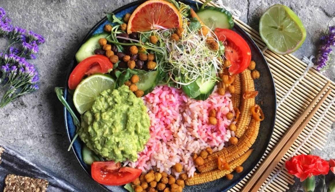 Guacamole Protein Salad Bowl