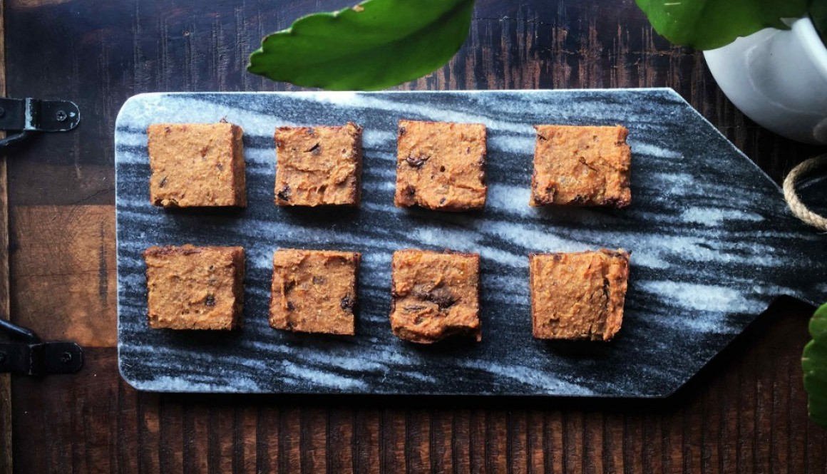 Let's try #6: Sweet Potato Blondies By Lisa Goes Vegan