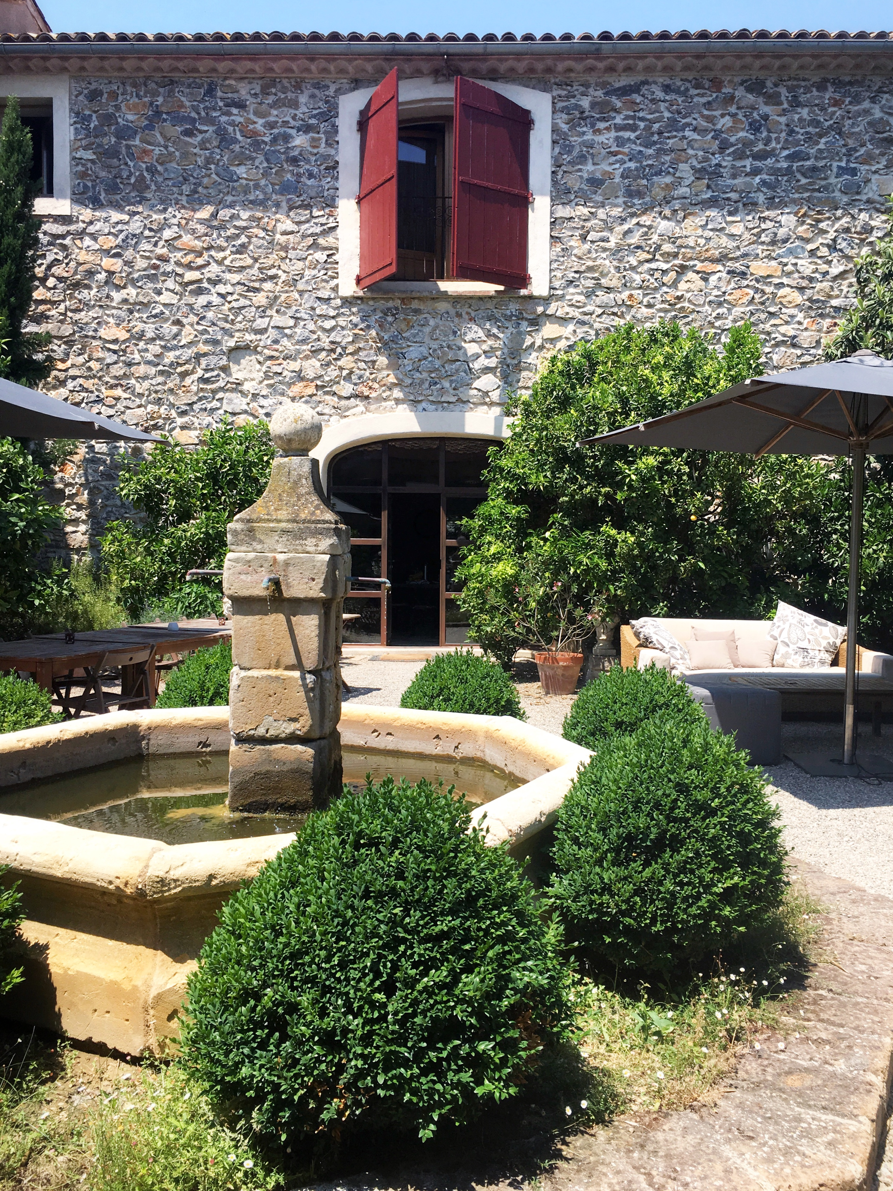 Entrance Guest Villa