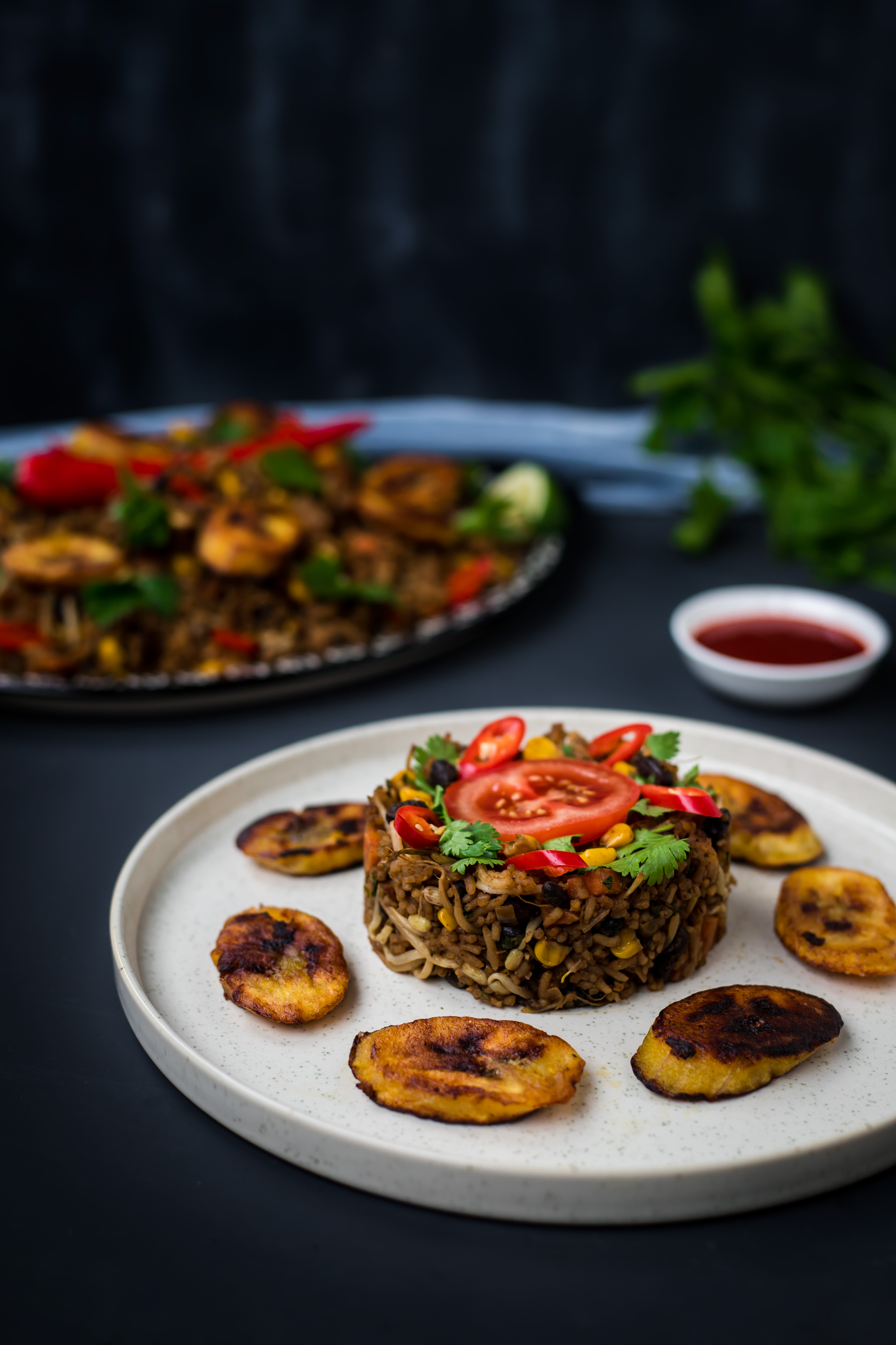Fried rice high protein as a kid fried rice dishes were some of my favorites i always went back for seconds whenever we went to surinamese parties there would always be ccuart Choice Image