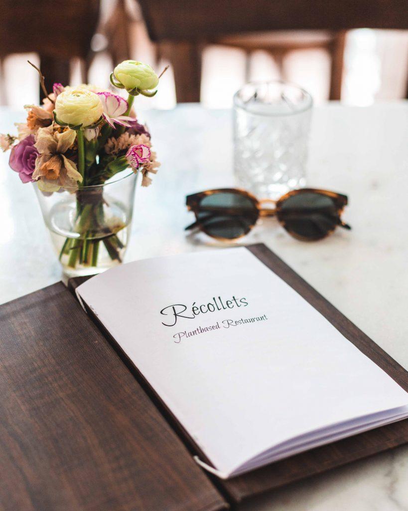 menu recollets