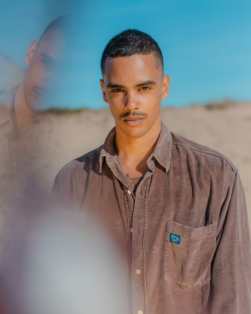 Picture of Jason in the dunes